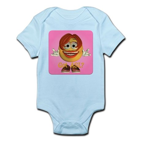 ASL Girl - Infant Bodysuit