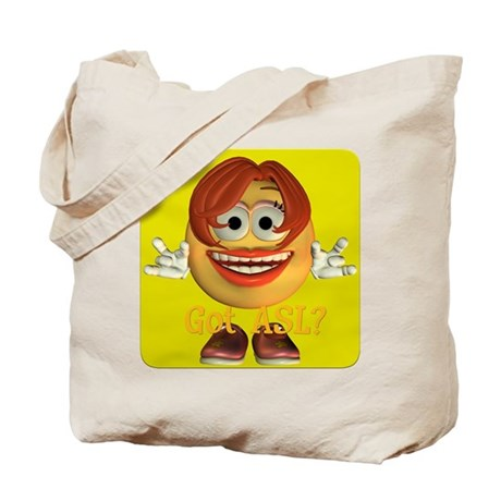ASL Girl - Tote Bag