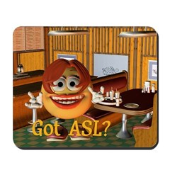 ASL Girl - Mousepad