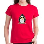 Bling Penguin Women's Dark T-Shirt