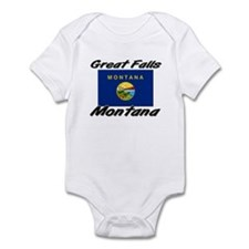 Great Falls Montana Infant Bodysuit