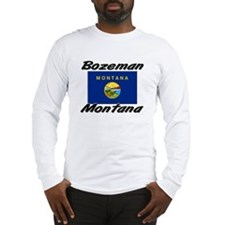 Bozeman Montana Long Sleeve T-Shirt