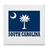 South Carolina Tile Coaster