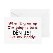 Dentist (Like My Daddy) Greeting Card