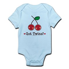 Got Twins Cherry Twin Infant Bodysuit