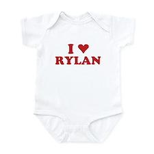 I LOVE RYLAN Infant Bodysuit