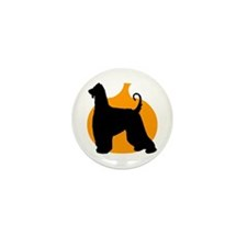 Afghan Hound Halloween Mini Button (100 pack)
