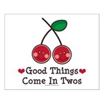 Good Things Cherry Twin Small Poster