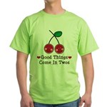 Good Things Cherry Twin Green T-Shirt