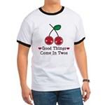 Good Things Cherry Twin Ringer T