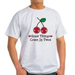 Good Things Cherry Twin Light T-Shirt