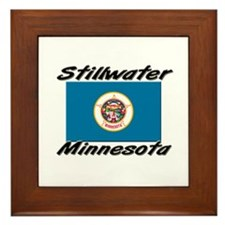 Stillwater Minnesota Framed Tile
