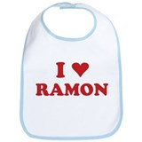 I LOVE RAMON Bib