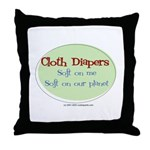 CD Soft on me Throw Pillow