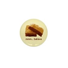 mmm... Baklava Mini Button (100 pack)