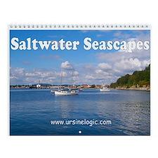 Saltwater Seascapes Wall Calendar
