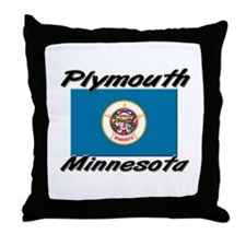 Plymouth Minnesota Throw Pillow