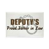 Deputy's Proud FIL Rectangle Magnet