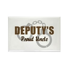 Deputy's Proud Uncle Rectangle Magnet
