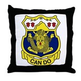 "15 Inf Reg ""CanDo"" Throw Pillow"