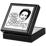 Hot for Hillary Keepsake Box
