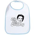 Hot for Hillary Bib