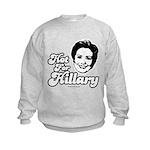 Hot for Hillary Kids Sweatshirt