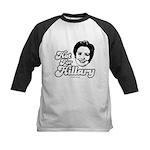 Hot for Hillary Kids Baseball Jersey