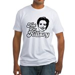 Hot for Hillary Fitted T-Shirt