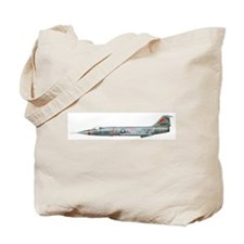 Cute F 104 starfighter Tote Bag