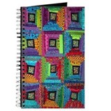 Crazy Log Cabin Quilt Journal