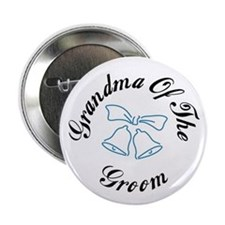 Grandma Of The Groom Button