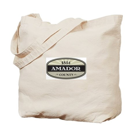 Amador County Tote Bag
