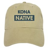 KONA native Baseball Cap