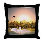 #180 Angel : Throw Pillow