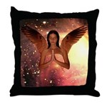 #185 Angel : Throw Pillow