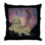 #184 Angel : Throw Pillow