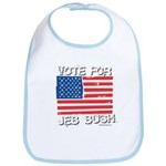 Vote for Jeb Bush Bib