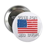 Vote for Jeb Bush Button