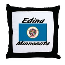 Edina Minnesota Throw Pillow