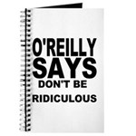 DON'T BE RIDICULOUS Journal