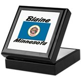 Blaine Minnesota Keepsake Box