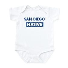 SAN DIEGO native Infant Bodysuit