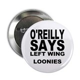 LEFT WING LOONIES Button