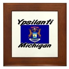 Ypsilanti Michigan Framed Tile