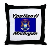 Ypsilanti Michigan Throw Pillow