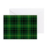 Clan Arthur - Just Tartan Greeting Cards. Pk of 10
