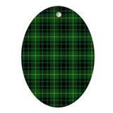 Clan Arthur - Just Tartan Oval Ornament