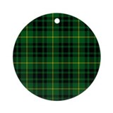 Clan Arthur - Just Tartan Ornament (Round)