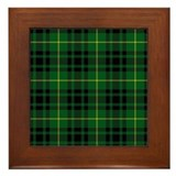 Clan Arthur - Just Tartan Framed Tile